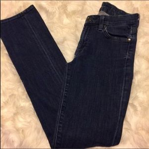 7 For All Mankind blue denim stretch jeans 25 7FAM